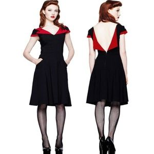 Retro Vamped Day to Night Evie Dress Vintage Pinup